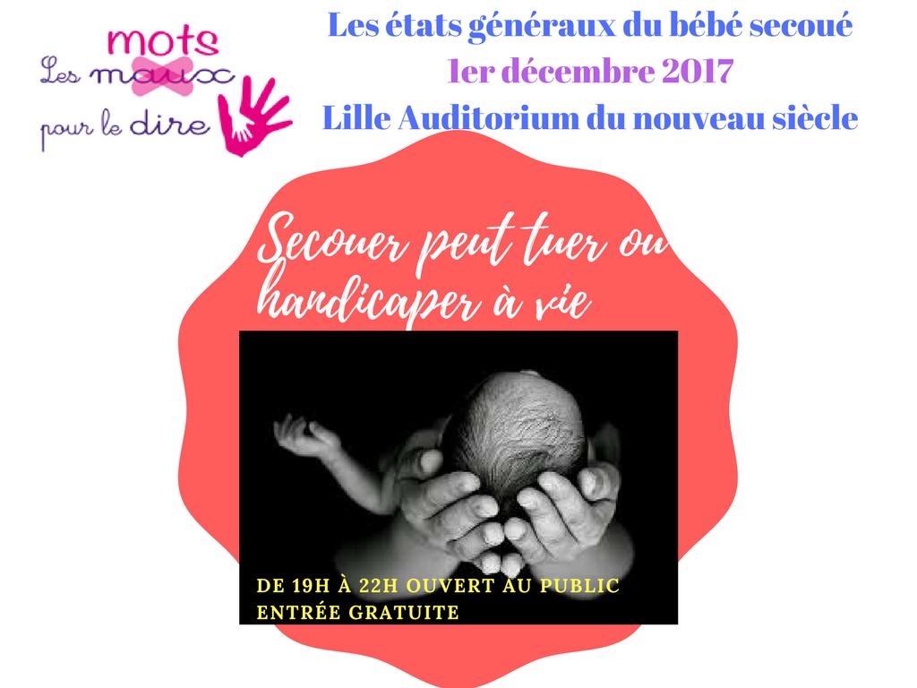 états -généraux du bébé secoué